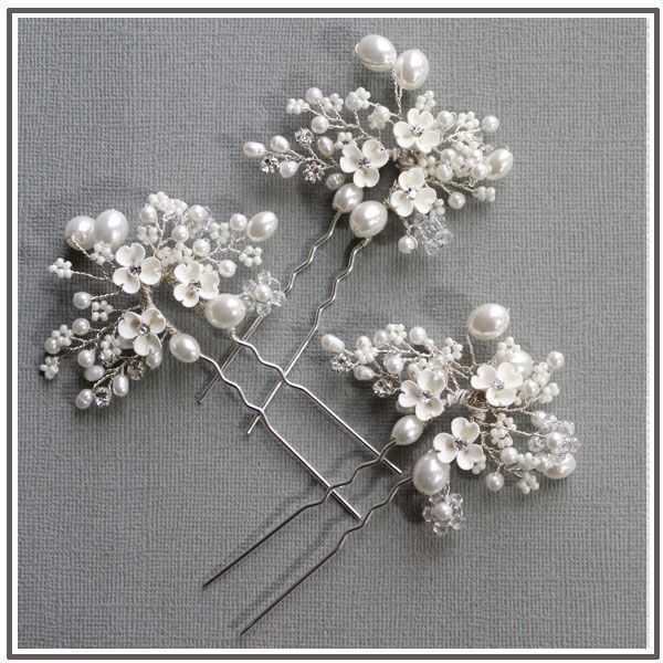 "Hair Pins - ""Bouquet Sticks"""