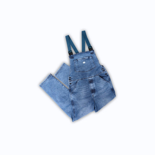 Men's Overalls in Cabin Wash