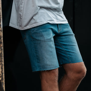 Men's V2 Jorts in Dark Wash