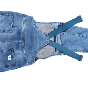 Women's Overalls in Cabin Wash
