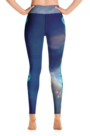 Blue Moon High-Waisted Leggings