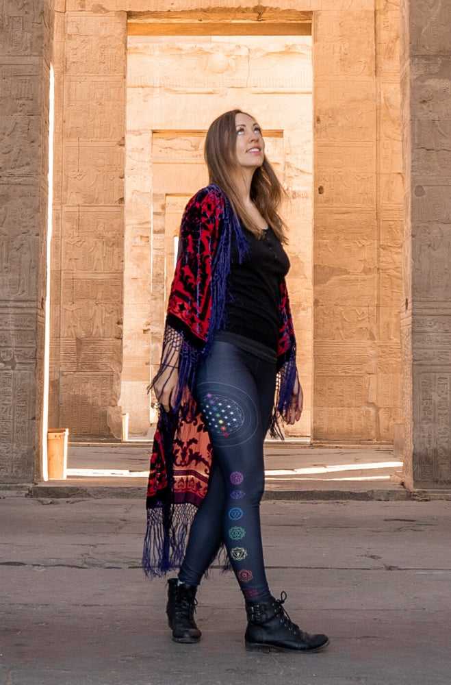 Chakra Balancing High-Waisted Leggings