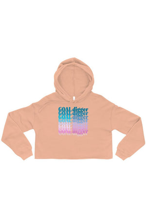 Load image into Gallery viewer, Crop GOAL Digger Hoodie