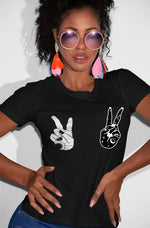 Peace Out 100% Cotton Tee