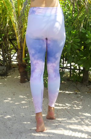 Load image into Gallery viewer, Pink Cloud High-Waisted Leggings