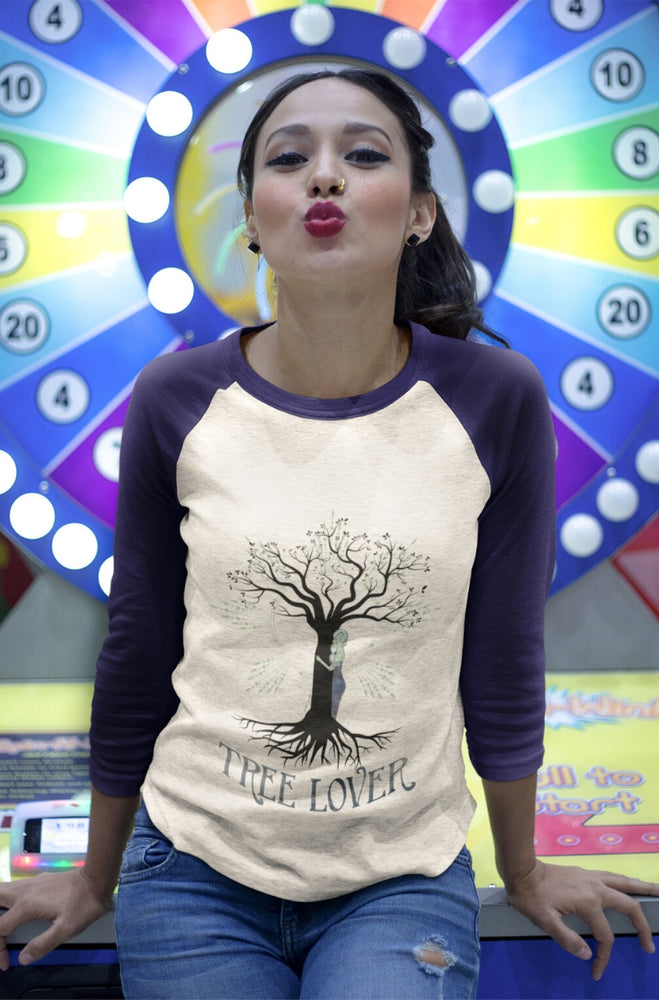 Tree Lover Baseball Tee