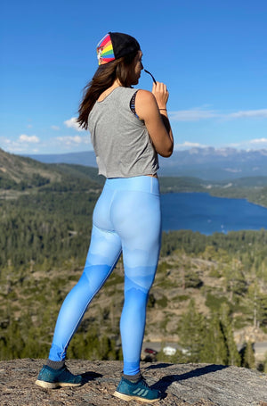 Misty Mountains High-Waisted Leggings