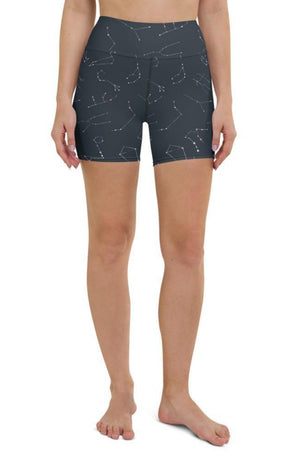 Zodiac Sky Yoga Shorts
