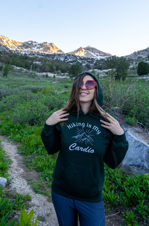 Load image into Gallery viewer, Hiking is My Cardio Hoodie