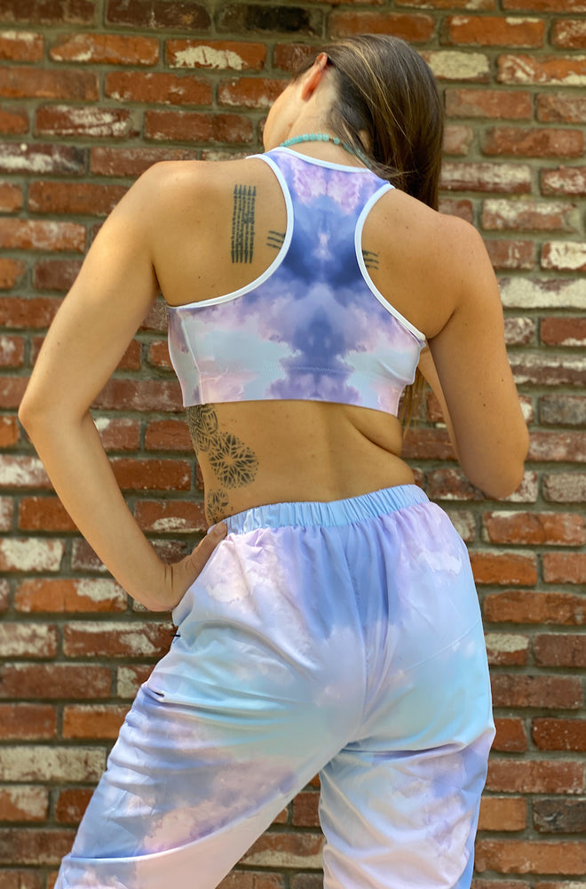 Load image into Gallery viewer, Pink Cloud Sports bra