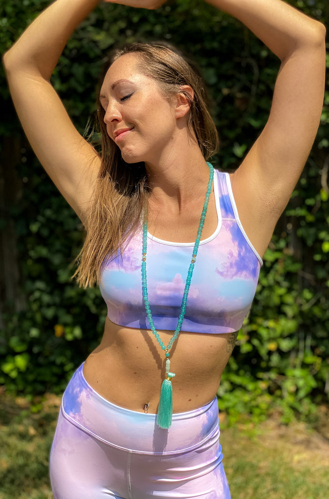 Pink Cloud Sports bra