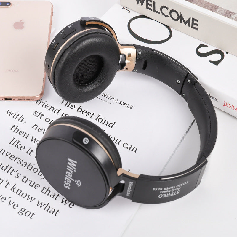 Headphone wireless Bluetooth headphone gaming headphone