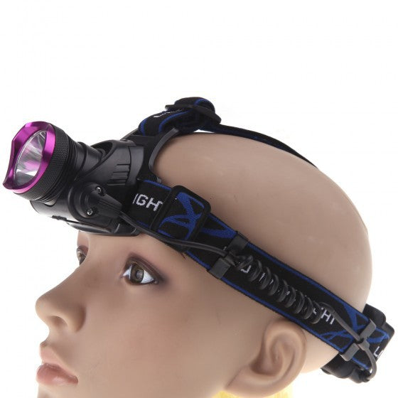 Headlamp outdoor camping headlamp spotlight aluminium kuat headlamp led jarak jauh kuat T6 - OCISTOK.COM