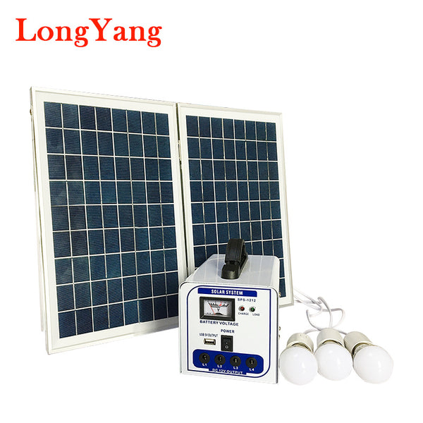 Generator Mini 20W Energi Solar System lighting Powerbank Solar