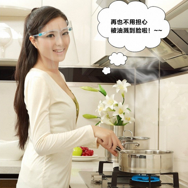 Anti-smoke and Oil Splash Mask for Kitchen Cooking-1 Set