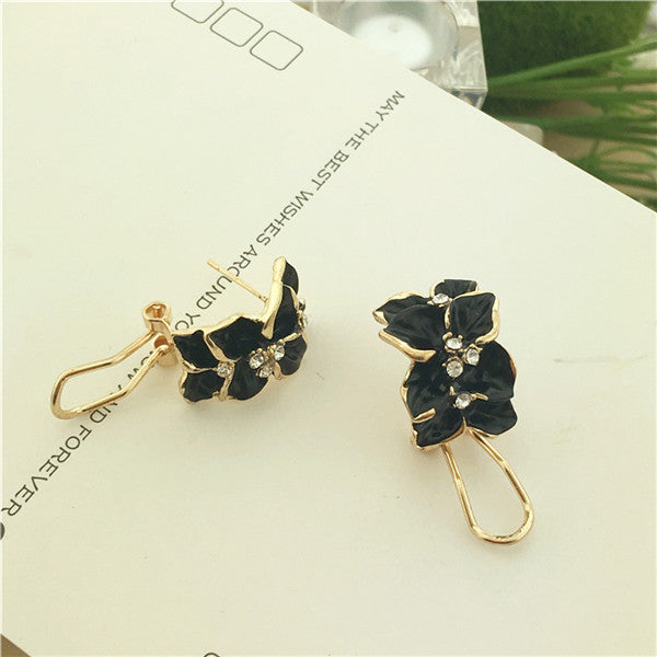 Anting fashion rose alloy anting-anting wanita