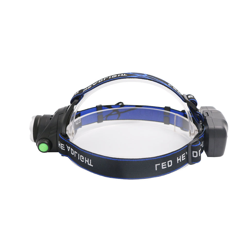 USB Headlamp LED 3xAAA Camping Hiking Fishing Memancing Outdoor Senter Flashlight Head Lamp - OCISTOK.COM