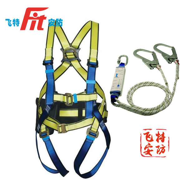 Safety belt safety tali kerja udara polyester standar nasional safety belt