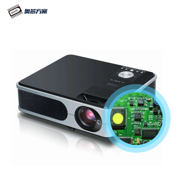 Smart projector micro HD Android proyektor portabel