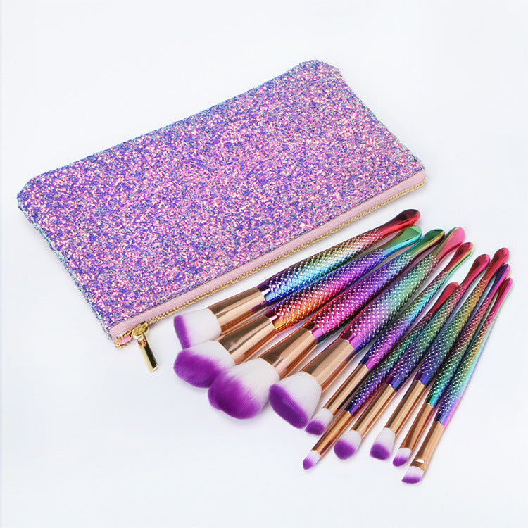 Dompet Brush Make Up tas kosmetik multi-fungsional tas kosmetik portabel tahan air tas brush - OCISTOK.COM