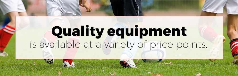 Soccer Equipment Price Points