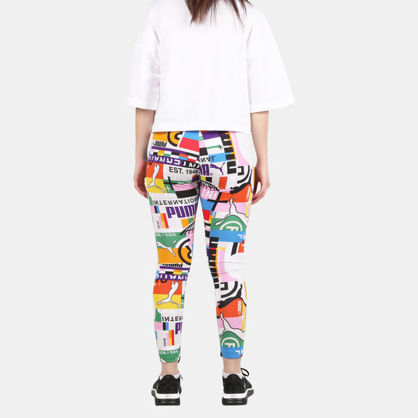 Womens  International All Over Print Legging