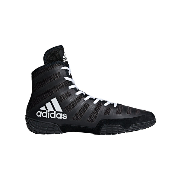 Adizero Varner Black/White Wrestling Shoes