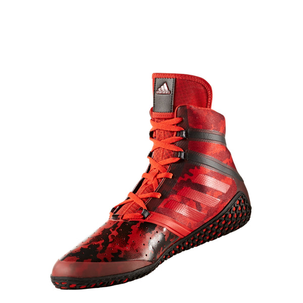 Impact Red Camo Wrestling Shoes