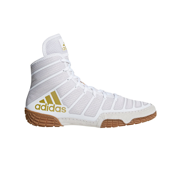 Adizero Varner White Gold Wrestling Shoes
