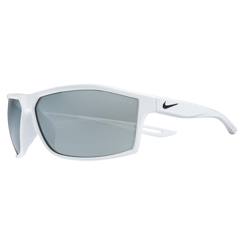 Intersect White Grey W Silver Mirror Lens