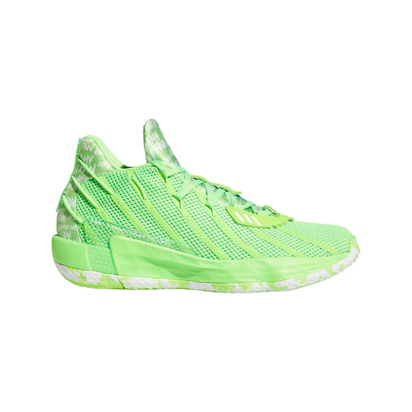 Dame 7 Solargreen/White Basketball Shoes