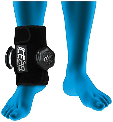 Double Ankle Ice Therapy Wrap