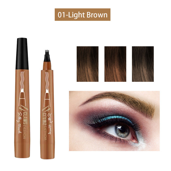 ONLYOILY-Liquid Eyebrow Pencil with Four Tips