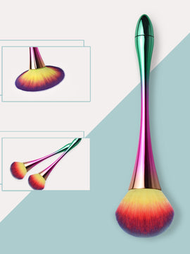 Onlyoily-Rainbow Foundation Makeup Brush