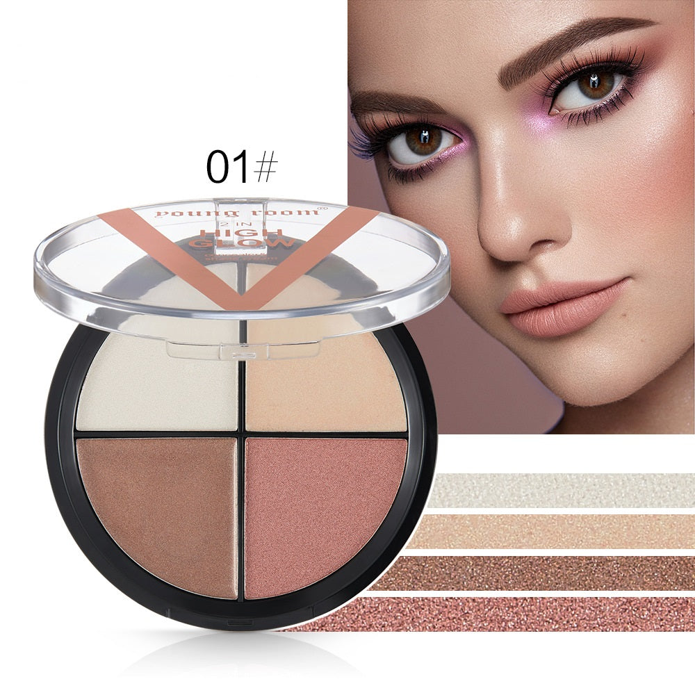 Onlyoily-2 In 1 Highlighter Makeup&Shade Cream