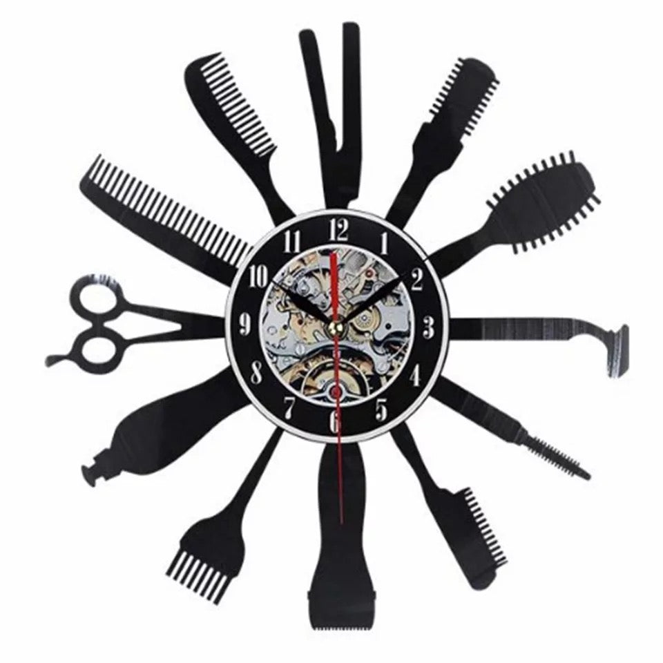 BARBER SHOP WALL CLOCK【🔥Buy 3 Get 1 FREE🔥】