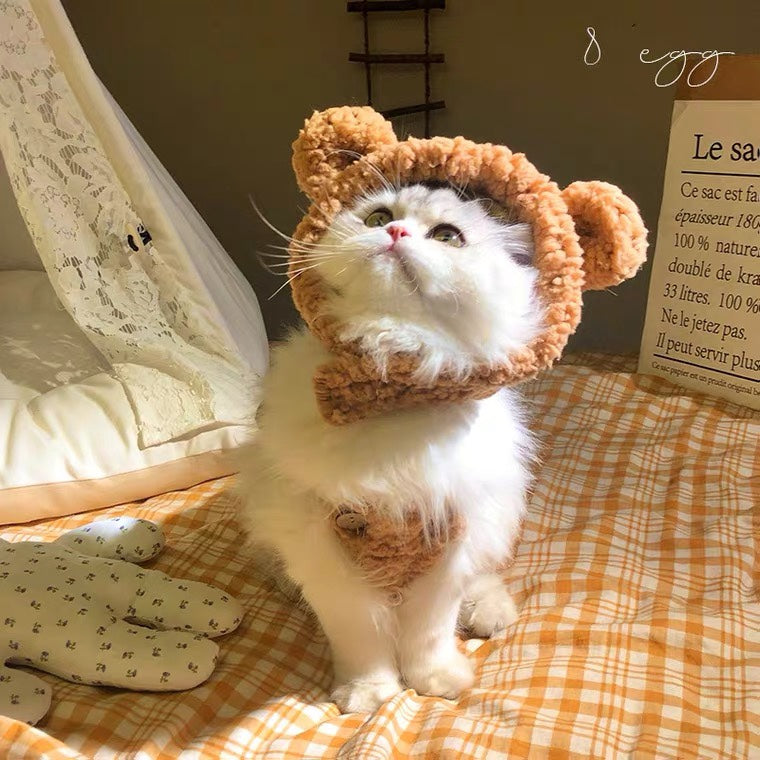 Adorable Pet Funny Hat For Cat Or Dog Free Size 【🔥Free Shipping🔥】