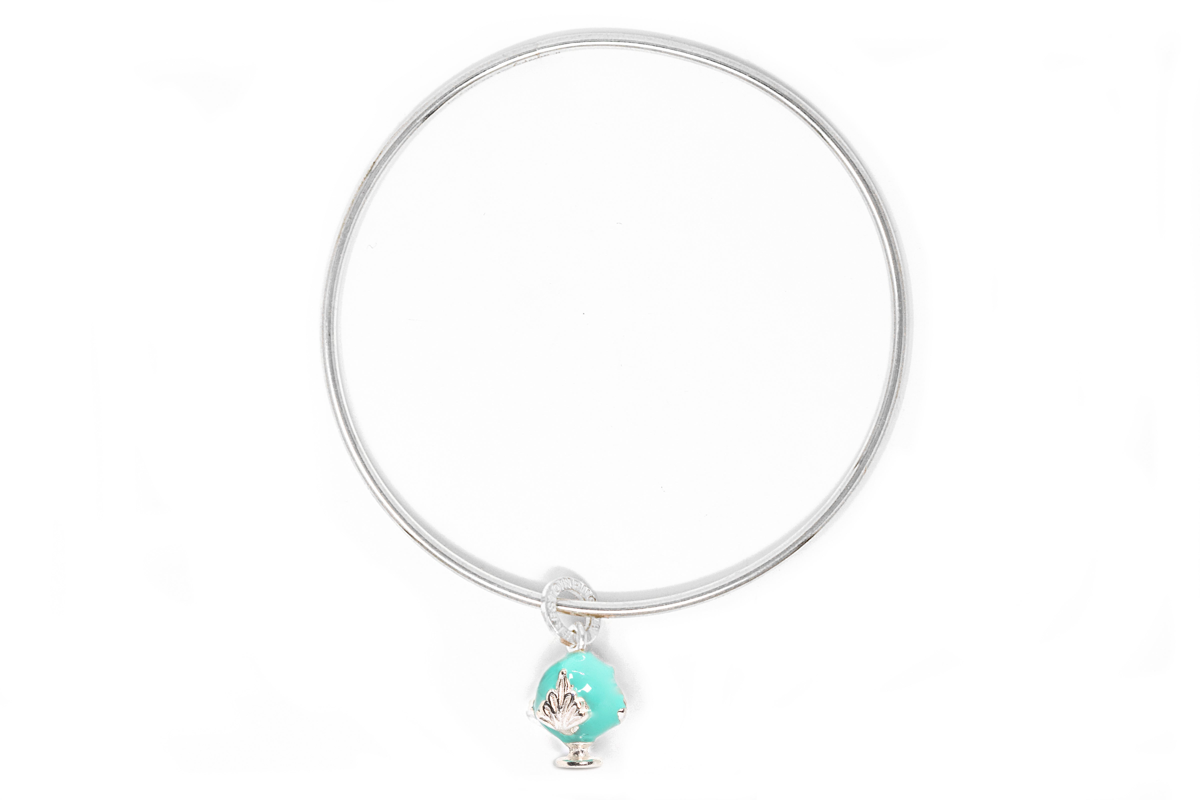 Bangle con Charm Smalto