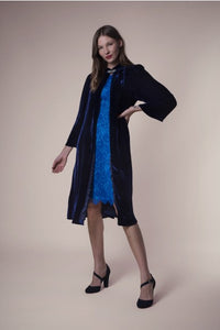 Libelula Laura Coat Navy