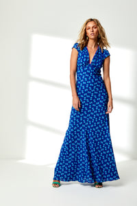 libelula Blue maxi dress