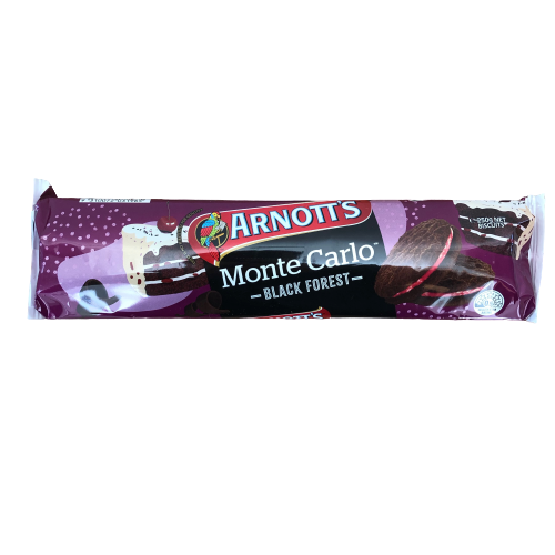 Arnotts Monte Carlo - Black Forest 250g