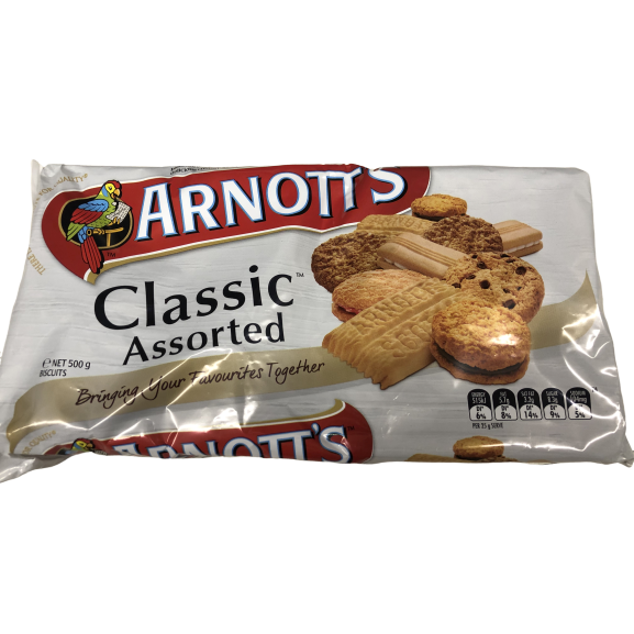 Arnotts Classic Assorted 500g