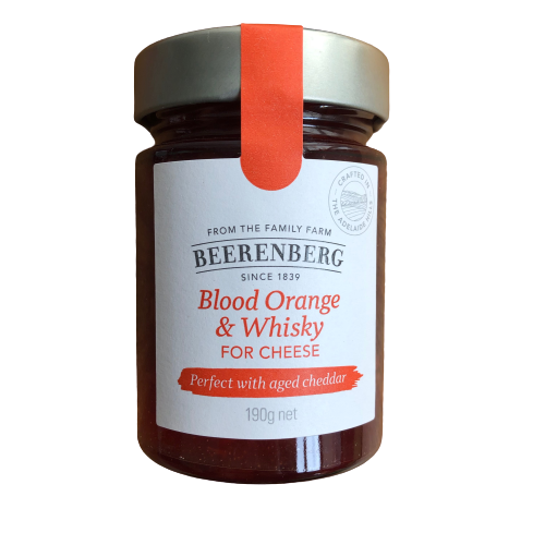 Beerenberg Blood Orange & Whisky for Cheese - 190g