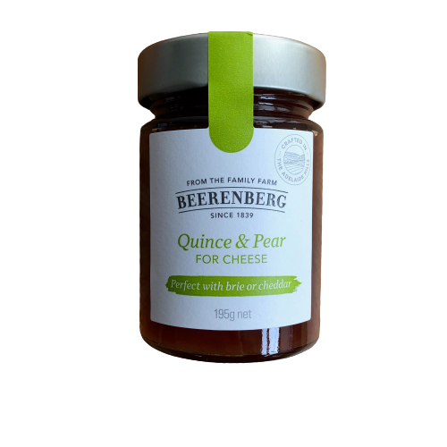 Beerenberg Quince & Pear for Cheese - 195g
