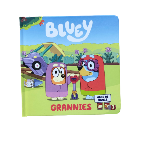 Bluey - Grannies - Book