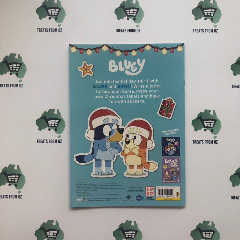 Bluey Hooray, It's Christmas! A Sticker Activity Book