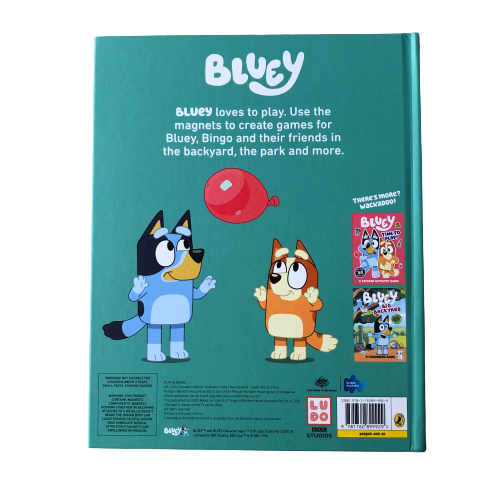 Bluey Let's Play Outside! A Magnet Book