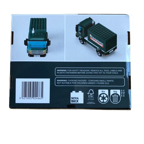 Bunnings Building Block Truck