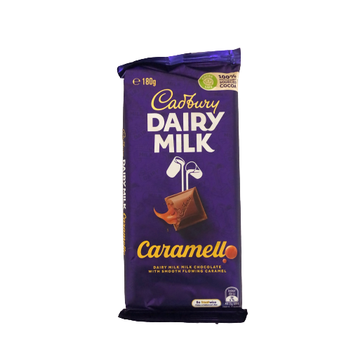 Cadbury Dairy Milk Caramello Chocolate 180g