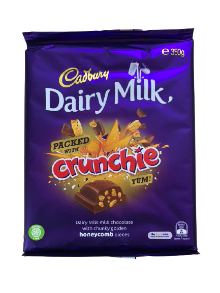 Cadbury Crunchie Family Block 350g